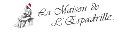 Visuel représentant le logo de la Maison de l'Espadrille